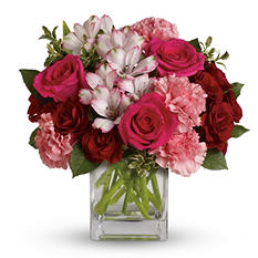 Teleflora's Pink Passion Bouquet