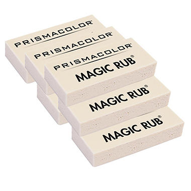 Prismacolor - Magic Rub Art Eraser - Vinyl - 6 Count
