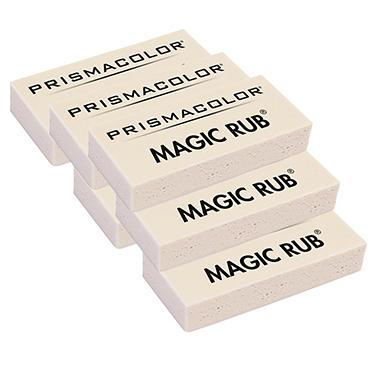 Prismacolor - Magic Rub Art Eraser - Vinyl - 6 Count