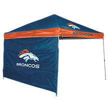 NFL Denver Broncos 9' x 9' Canopy with Wall