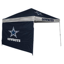 NFL Dallas Cowboys 9' x 9' Canopy with Wall
