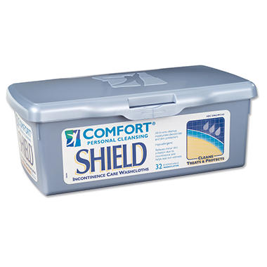 Comfort Shield Perineal Care Washcloths - 12 pk.