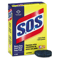 S.O.S Steel Wool Soap Pads - 15 ct.