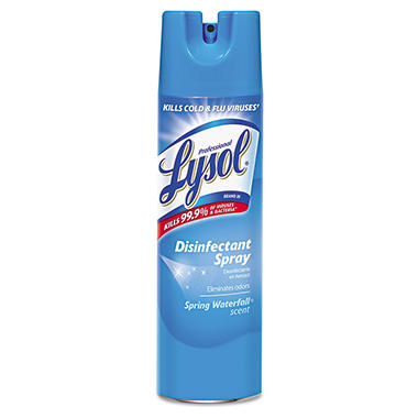 Lysol I.C. Disinfectant Spray - Spring Waterfall Scent - 19 oz.