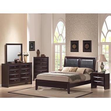 Madison Bedroom Set - 6 pc. - Queen