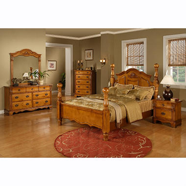 Vivian Bedroom Set - 4 pc. - King    .