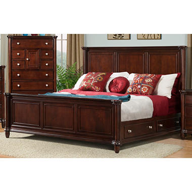 Gavin Storage Bed - Queen