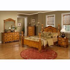Vivian Post Bed (Choose Size)