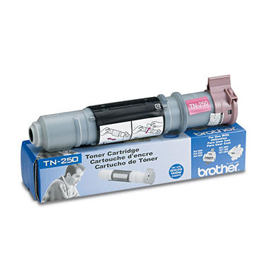 Brother TN250 Toner Cartridge, Black (2,200 Yield)