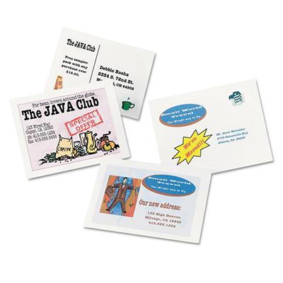 Avery Postcards for Inkjet Printers - White - 400 ct.