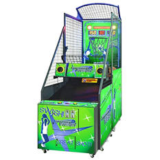 Free Throw Frenzy Full Size Arcade Basketball