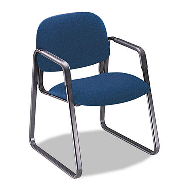 HON - Solutions Seating Sled Base Guest Chair - Blue