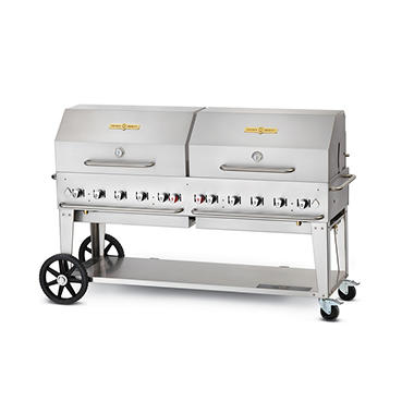"72"" Crown Verity� Stainless Steel Propane Grill"