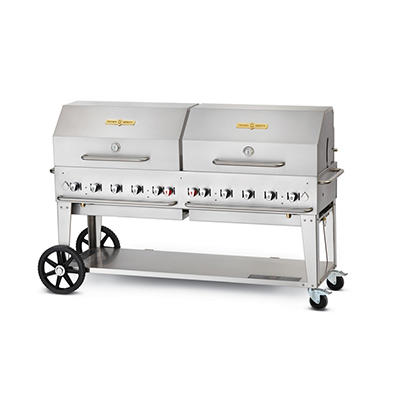 "72"" Crown Verity® Stainless Steel Propane Grill"