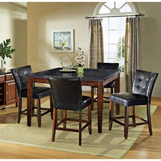 Scott Counter Height Table and 4 Chairs Dining Set