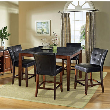 Scott Counter Height Table And 4 Chairs Dining Set Sam 39 S