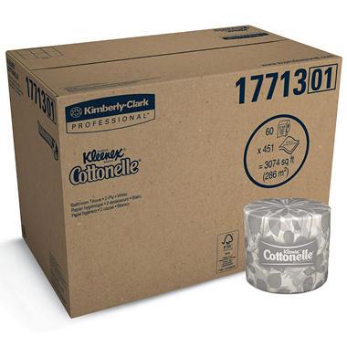 $10.00 off Kleenex® Cottonelle Bath Tissue - Online Only
