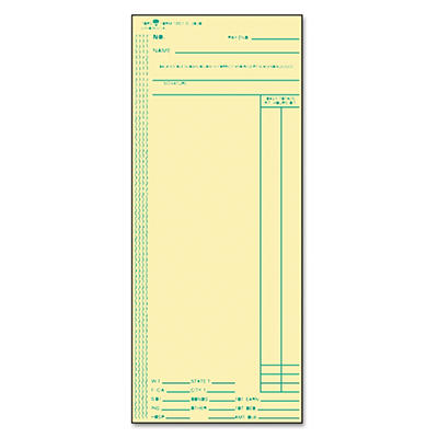 TOPS - Acroprint, Amano, Cincinnati, Lathem Time Card, Weekly, 3-3/8 x 8-1/4 -  500/Box