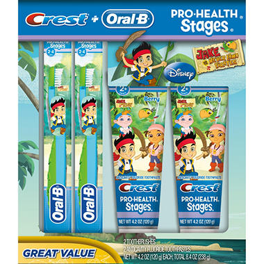 Oral-B Kids Pro Health Stages - Jake and the Never Land Pirates