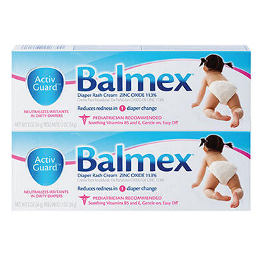 Balmex® Diaper Rash Cream - 2 oz. - 2 pk.