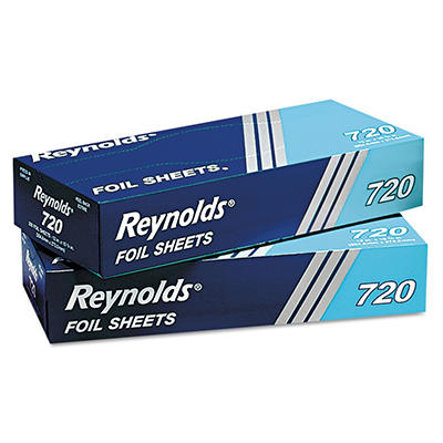 "Reynolds Aluminum Foil Sheets, 9"" x 10 3/4"" (12 boxes, 200 ct.)"