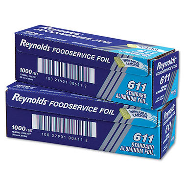"Reynolds Foodservice Aluminum Foil, 12"" x 1000' (1 pk.)"