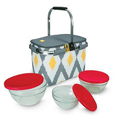 Igloo Party Basket with Luminarc Glassware Set (6 pc.) -  $2.97 Shipping