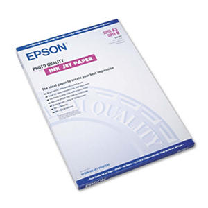 Epson - Matte Presentation Paper, 27 lbs., Matte, 13 x 19 -  100 Sheets/Pack