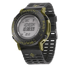 Columbia Men's Treeline Digital Display Quartz Watch (Black/Green)