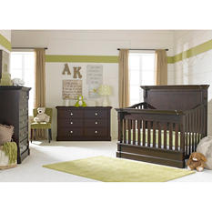 Dolce Babi Roma Nursery Collection, Dark Roast (3 pc.)