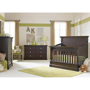Dolce Babi Roma 3-Piece Nursery Collection, Dark Roast