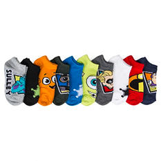 Boy's - 5 Pair No Show Character Socks