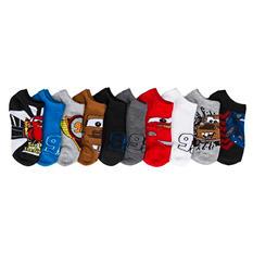 Boy's - 5 Pair No Show Character Socks