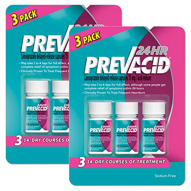 Prevacid 24HR Bundle (42 ct., 2 pk)