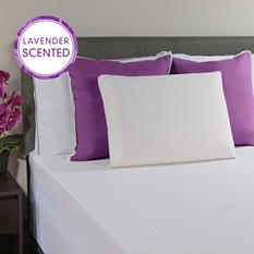 Scented Memory Foam Bed Pillow - Coconut or Lavender Scents