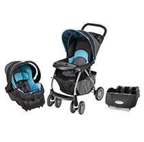 Evenflo Journey 300 Travel System / Car Seat Base Bundle - Koi - Free Standard Shipping