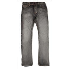 Black Rock Relaxed Straight Denim