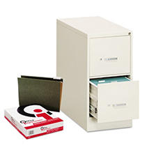 OIF (1) File Cabinet and (250) Hanging File Folders Bundle