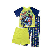 Marvel's Avengers Boys 3-Piece Pajama Set