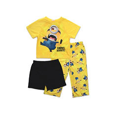 Despicable Me Boys 3-Piece Pajama Set