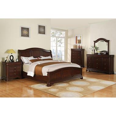 Conley Sleigh Bedroom Set - Queen - 5 pc.