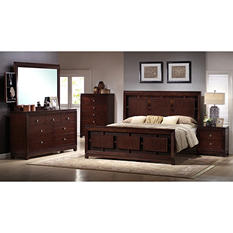 Easton Bedroom Set - King - 6 pc.