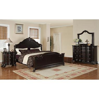 Helena Bedroom Set Queen 4 Pc Sam 39 S Club