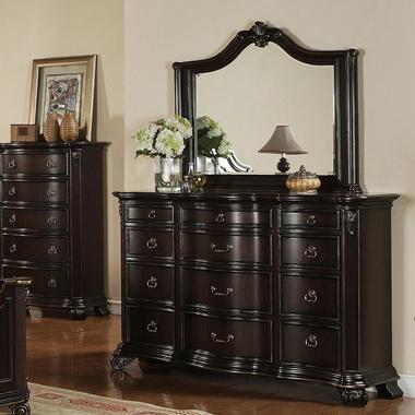 Helena Dresser and Mirror