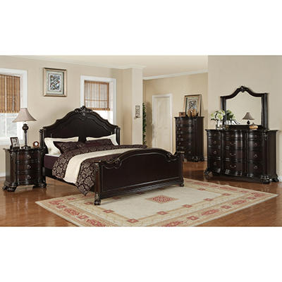 Helena Bedroom Set - Queen - 6 pc.
