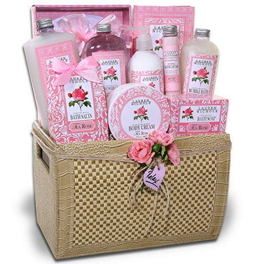 Ultimate Day Off Spa Gift Basket