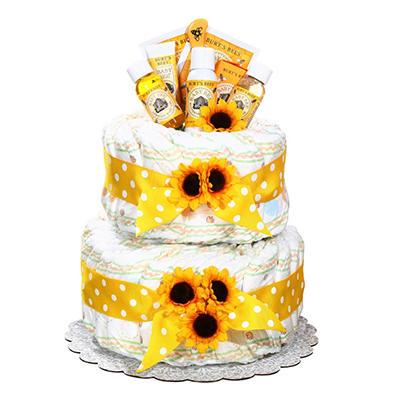 Burt's Bees Diaper Cake
