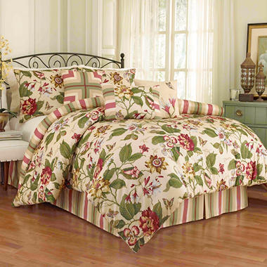 Promenade 7-Piece Comforter Collection - Various Sizes