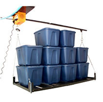 Garage Gator - Motorized Storage Hoist and Platform Accessory