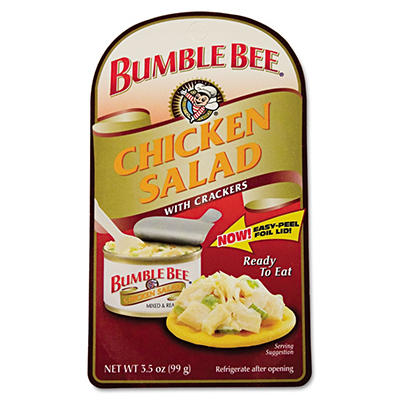 Bumble Bee Chicken Salad With Crackers Lunch Kit (3.5 oz. pk., 12 ct.)